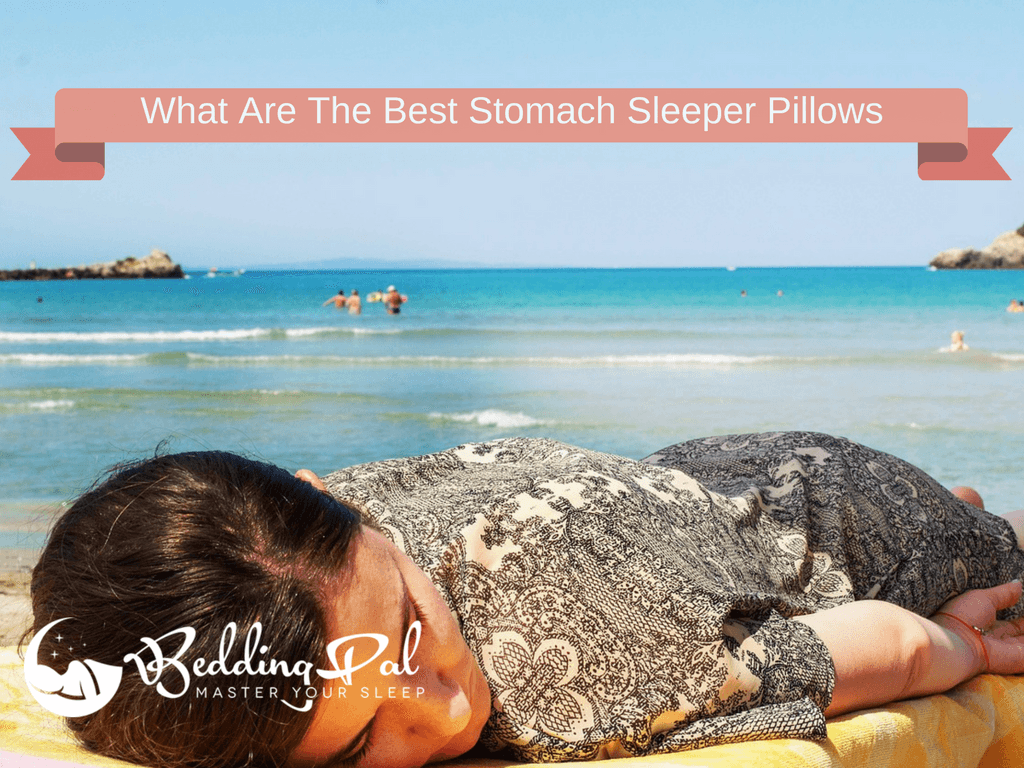 5 best thin pillows for stomach sleepers