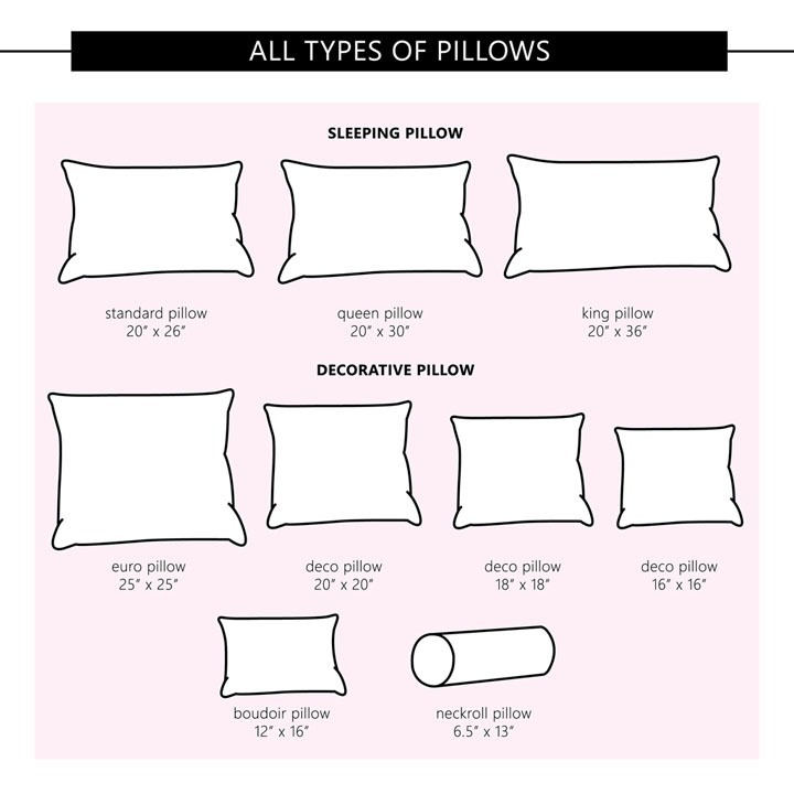 sizes-of-pillows