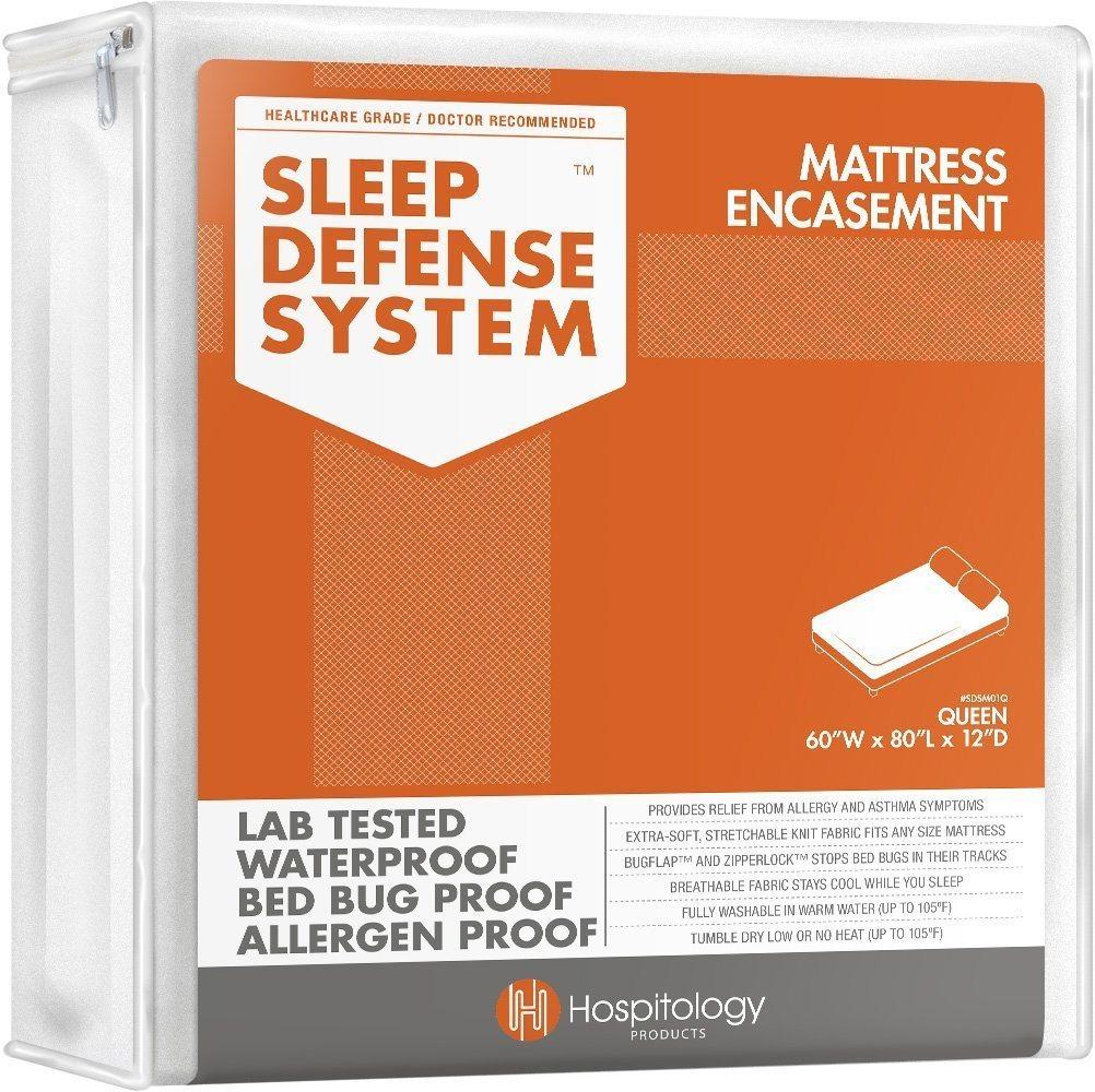 Hospitology The Original Sleep Defense System Zippered Mattress Encasement
