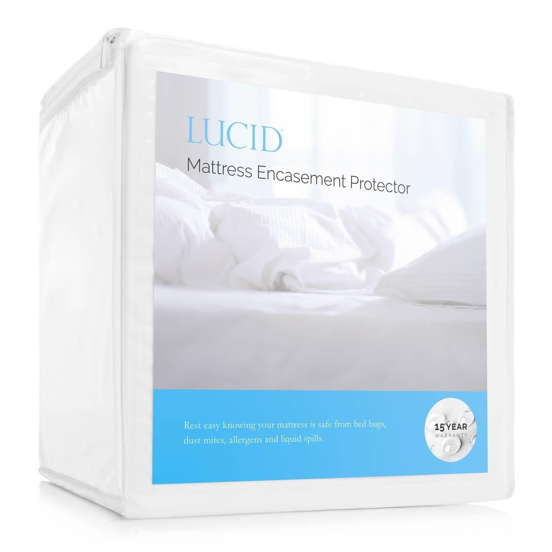 LUCID Encasement Mattress Protector