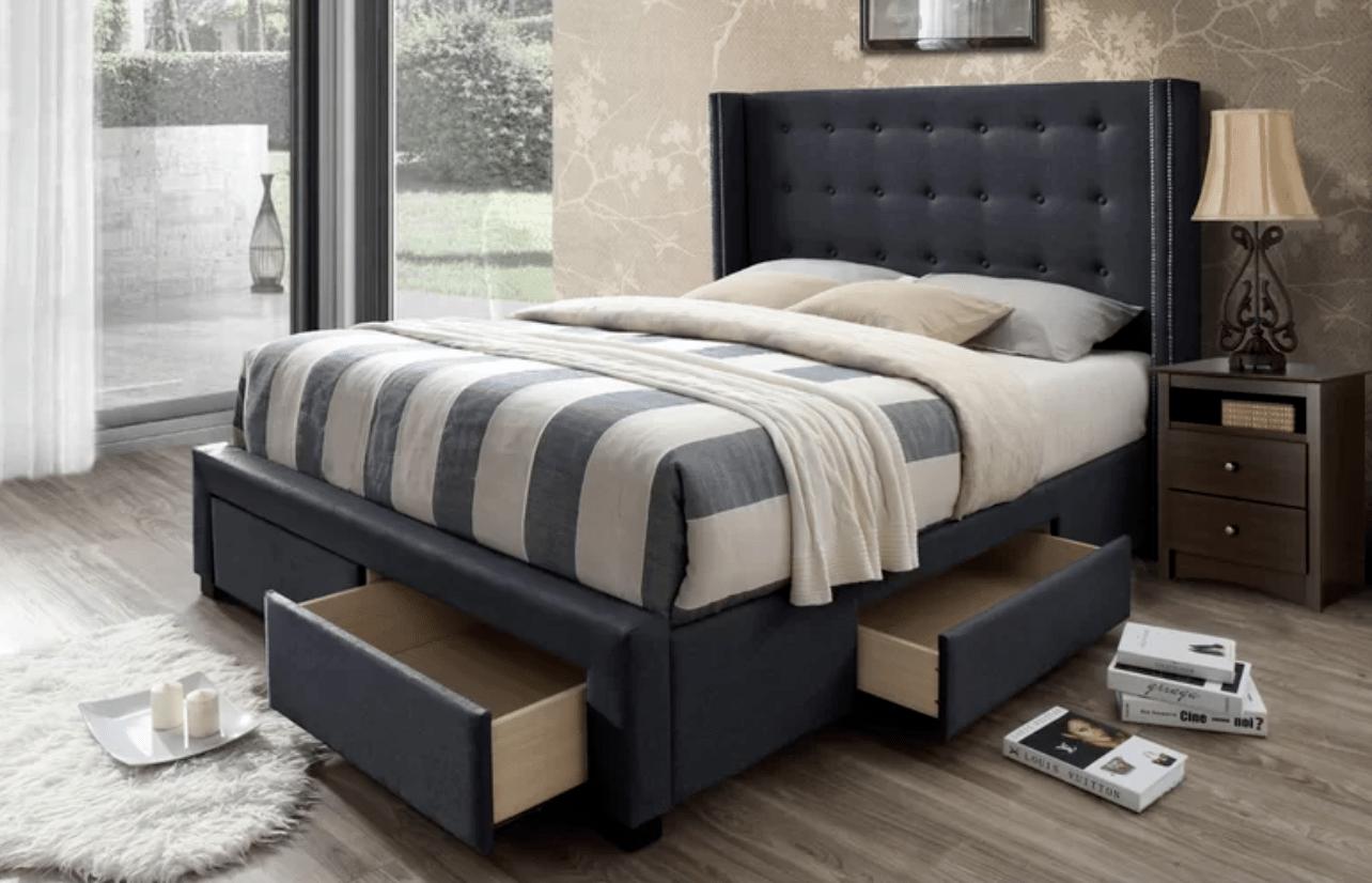 Best Storage Beds; Kerens Upholstered Storage Standard Bed