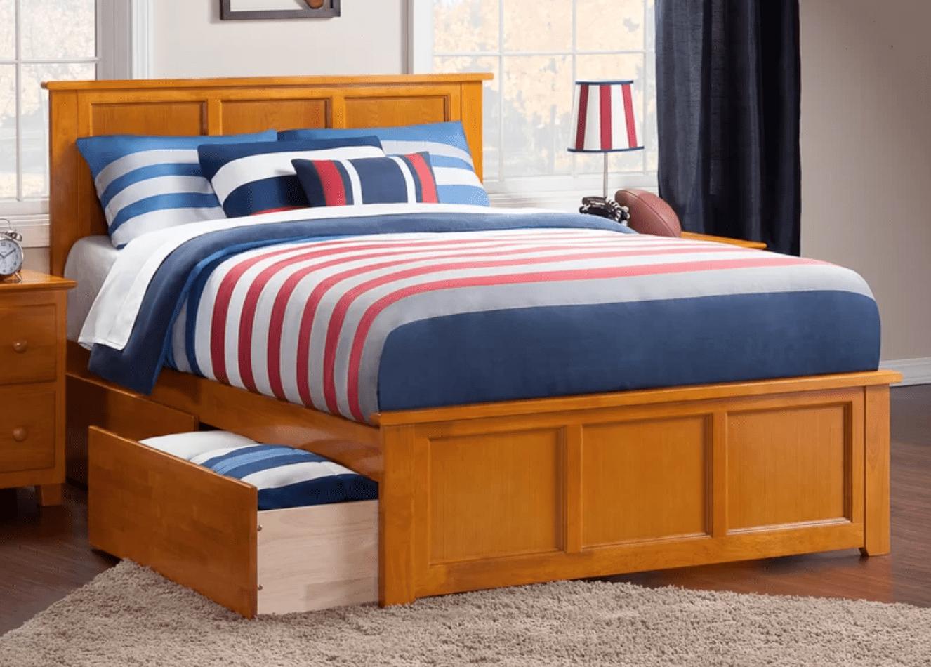 Best Storage Beds; Marjorie Storage Platform Bed